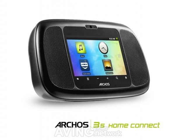 ARCHOS Android Home with the ARCHOS 35 Smart Home Phone