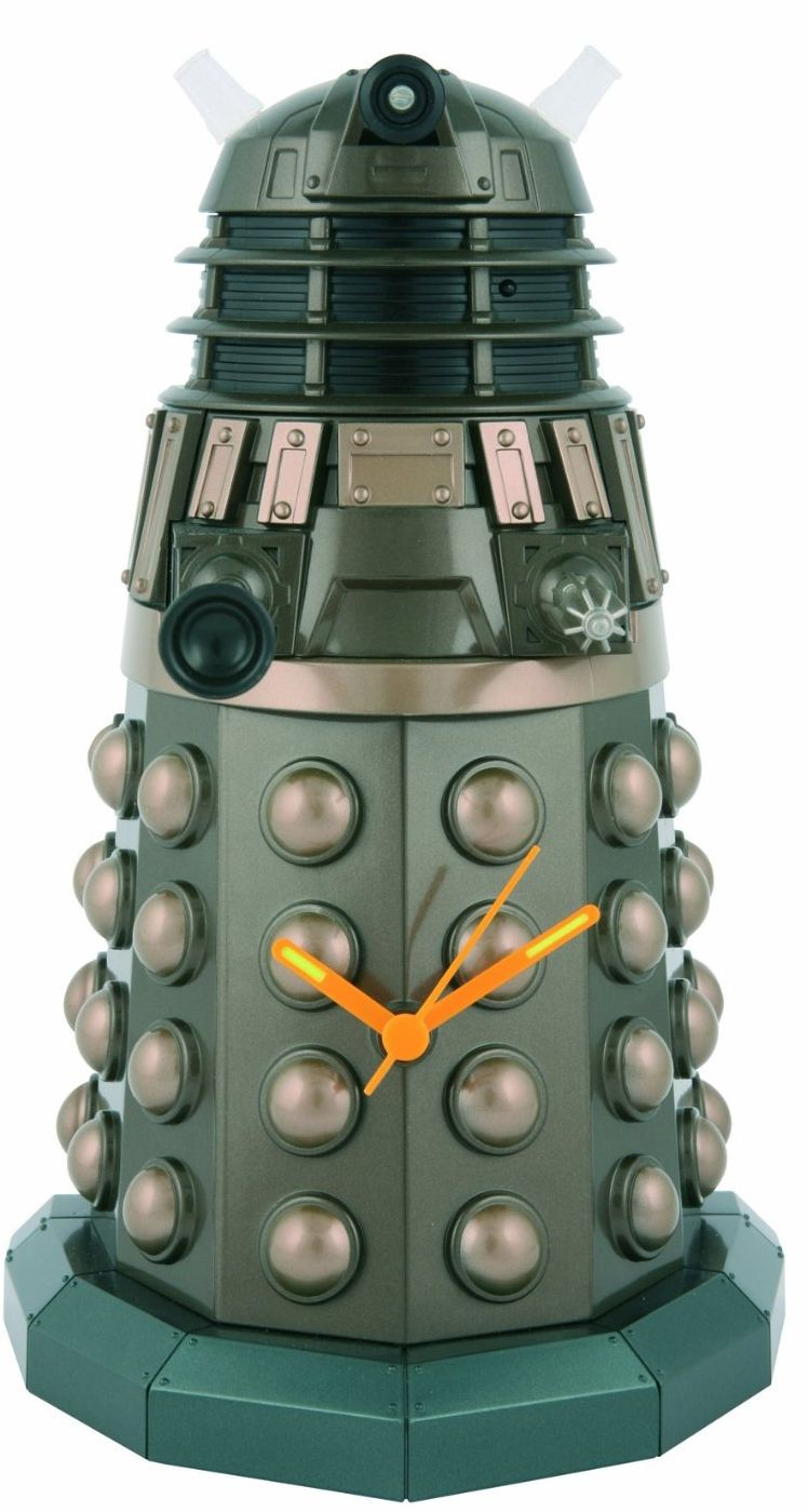 Underground Toys Doctor Who Dalek Sculpted Wall Clock