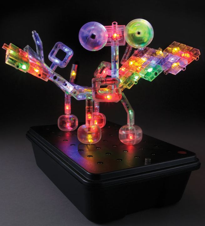 The Illuminated 3D Construction Kit