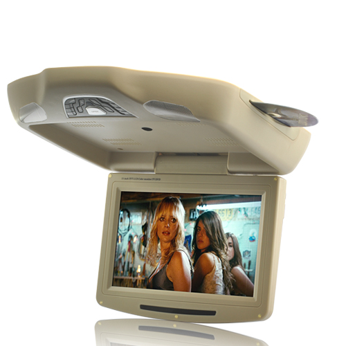 Roof-Mounted Car DVD Player with Remote Controller