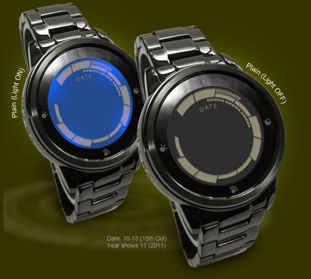 Kisai Rogue Touch LED Watch