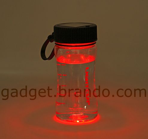 Solar LED Light Bottle