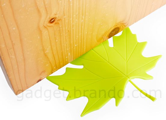 A Maple Leaf Door Stopper