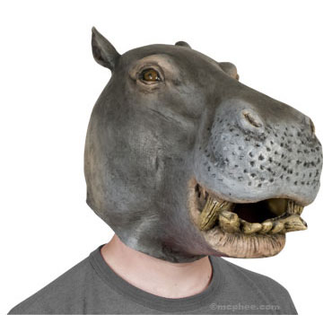 Latex Hippo Mask