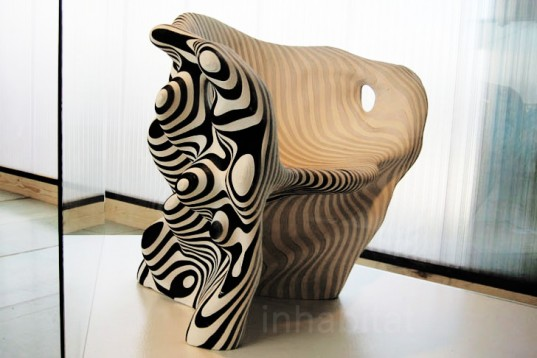 Biodegradable Paper Chair Brings Danish