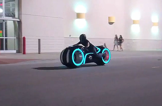 All-Electric Tron Lightcycle Hits the Streets!