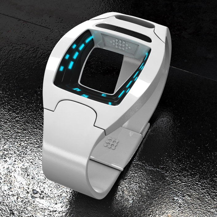 A Minimalist Sci-Fi LED Watch Design – Gadgets Matrix