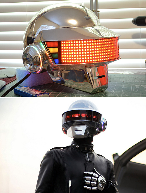 Build Your Own Daft Punk Helmet