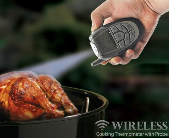 Wireless Cooking Thermometer with Probe