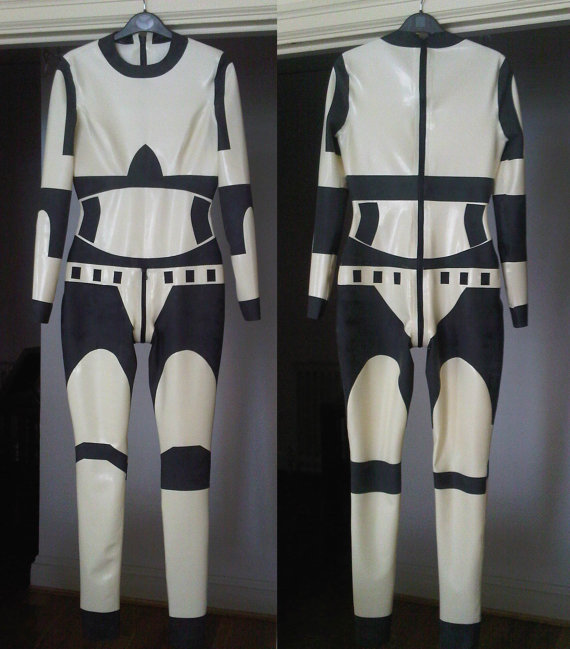 Star Wars Inspired Rubber Latex Catsuit