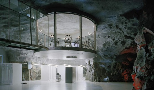 Subterranean Anti-Atomic Shelter Cool and Cavernous Internet Provider