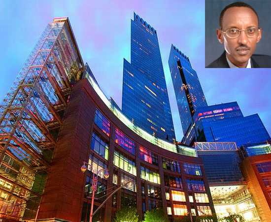 Rwandan president rents luxury hotel for $20,000 a night