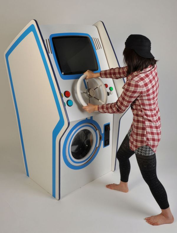 Arcade washing machine