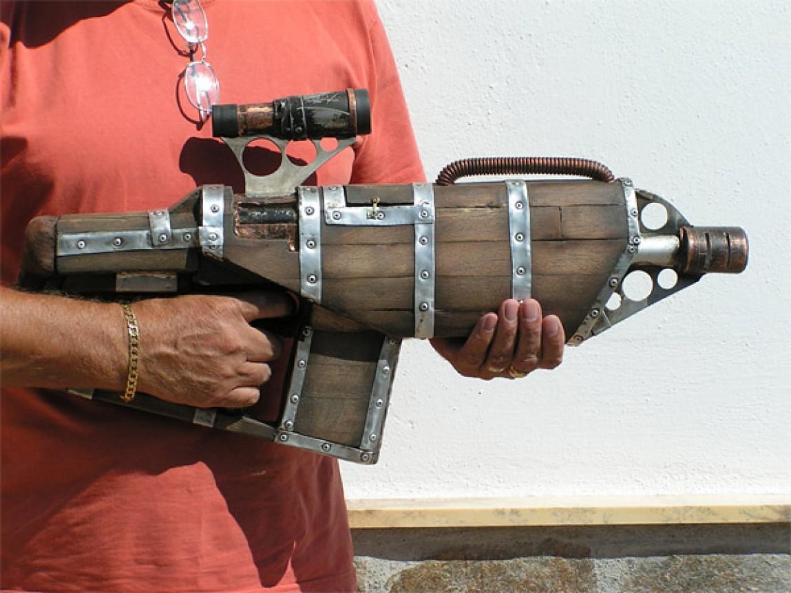 Пневматический гранатомет своими руками