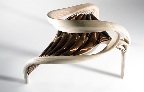 Sculptural Wooden Furniture