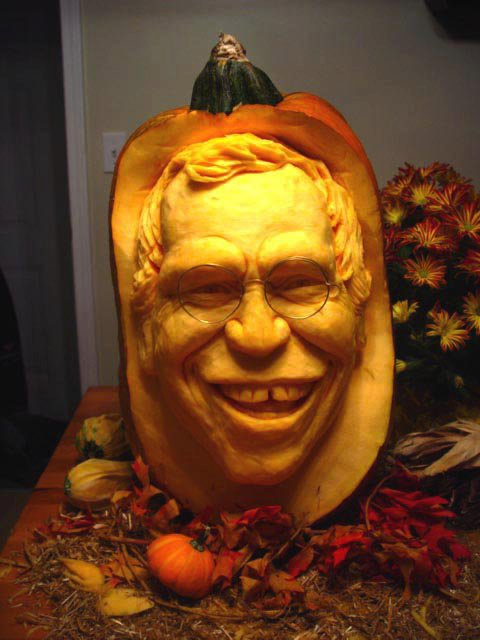 Realistic 3D Pumpkin Carvings