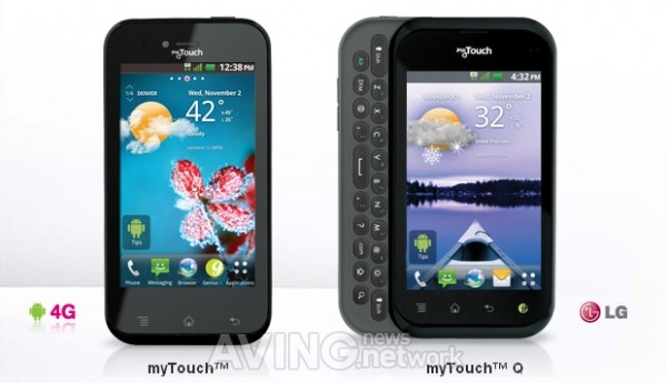 T-Mobile myTouch and T-Mobile myTouch Q