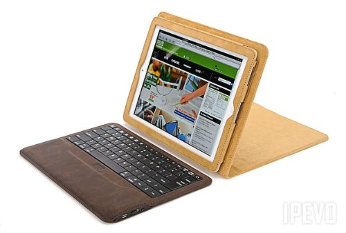Folio Case and Wireless Keyboard for iPad 2