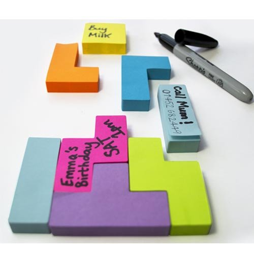 Video Game Shaped Sticky Notes