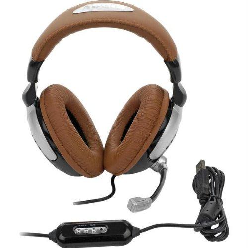 Edimensional Audiofx Pro 5+1 Pc Gaming Headset Improved Led Level Meter