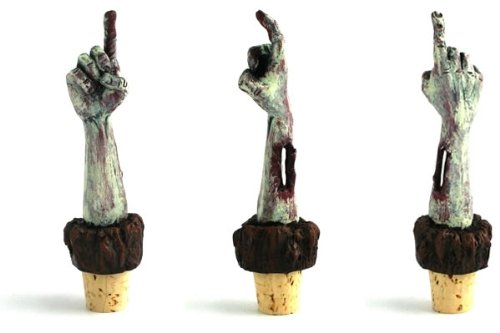 Zombie Wine Bottle Stopper