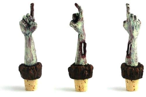 Zombie Wine Bottle Stopper
