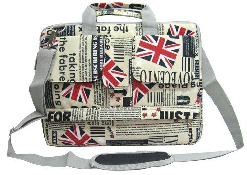 Union Jack Flag Laptop Carry Case