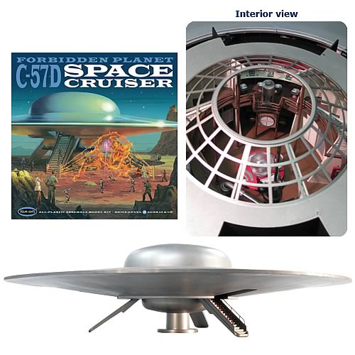 Forbidden Planet Space Cruiser Model Kit