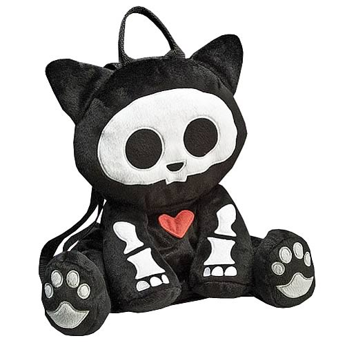 Skelanimals Cat Backpack