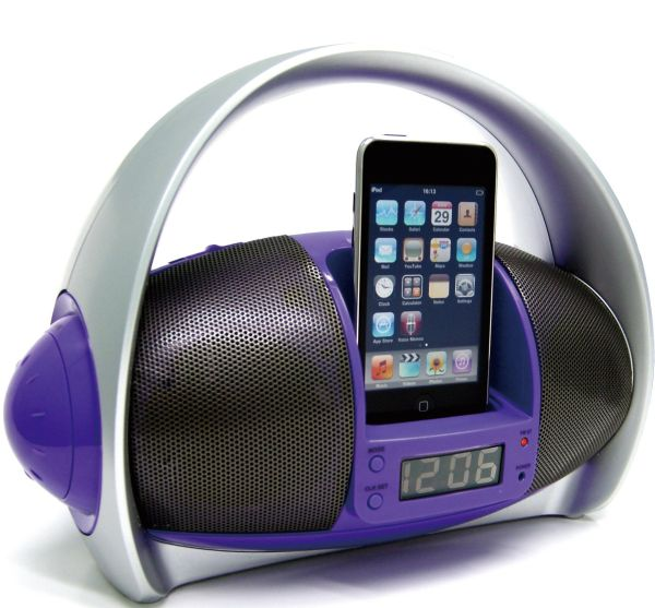 Sylvania Portable iPod Dock Boom