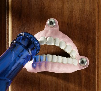 Teeth Cast Iron Bottle Opener