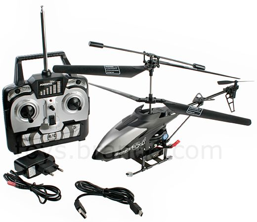 Rechargeable RC AIR SPY Camera Camcorder Stable GYRO 14-inch Helicopter
