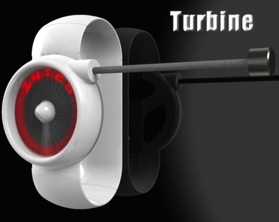 Turbine LED Watch Design
