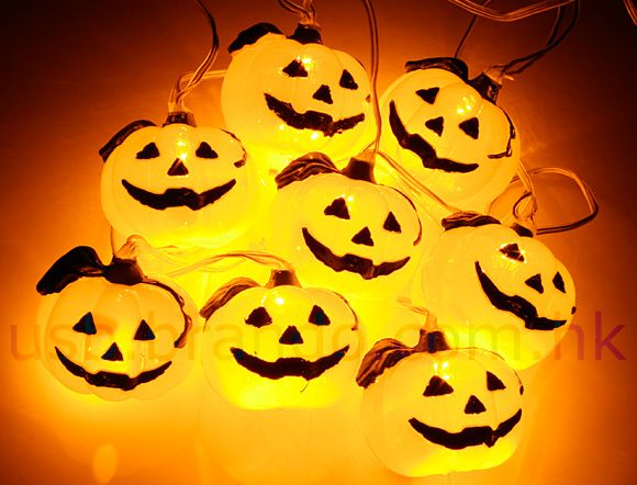 USB Halloween Pumpkin Decor Light
