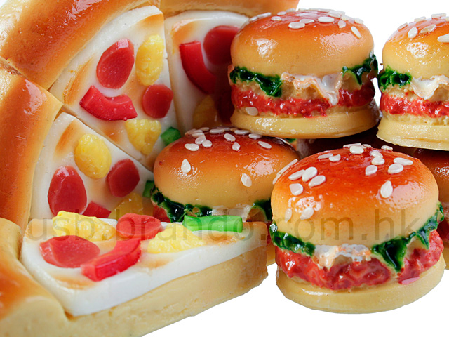 USB Fast Food Flash Drive