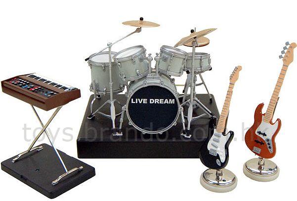 SegaToys Desktop Live Band Stage