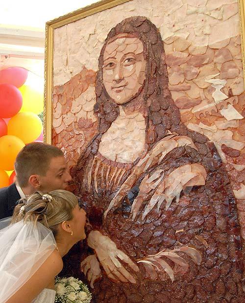 Meat Mona Lisa