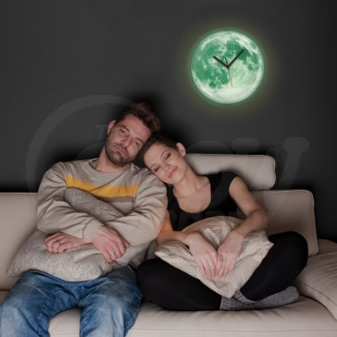 Glow in the Dark Moon Clock