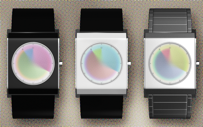 Halftone LED Watch Design