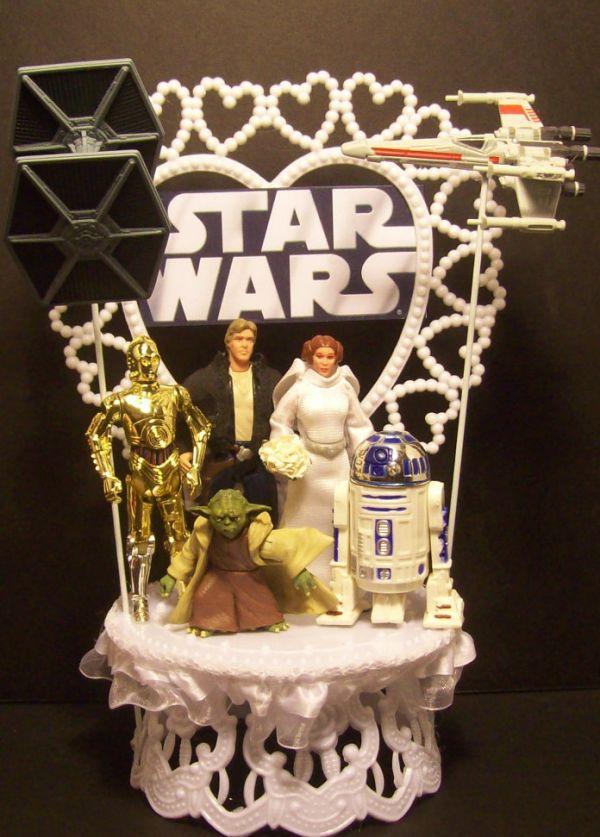 Star Wars Wedding Cake Topper