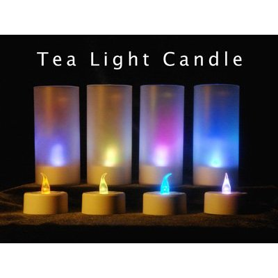 LED Electronic Blowable Blow Out Candle Tealight Tea