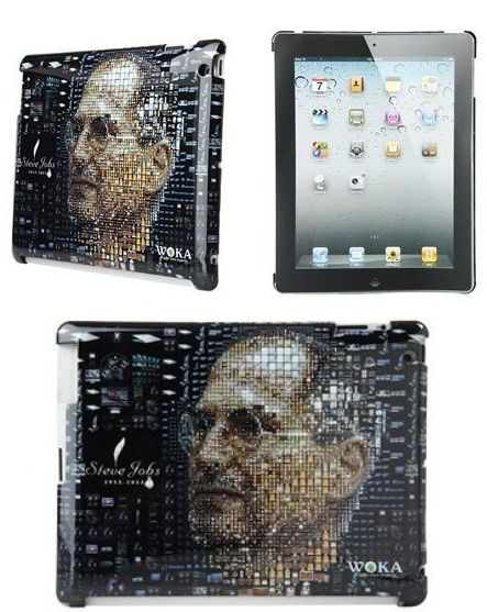 Steve Jobs Portrait Protective Case for iPad 2
