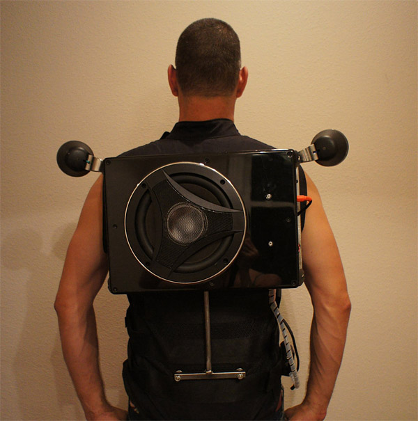Wearable Boom Box