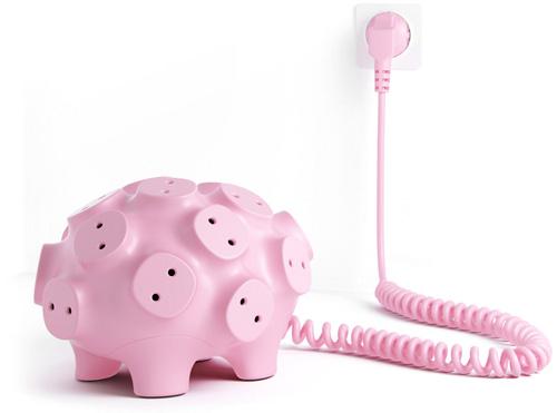 Art Lebedev's Svintus Power Strip Pig Concept