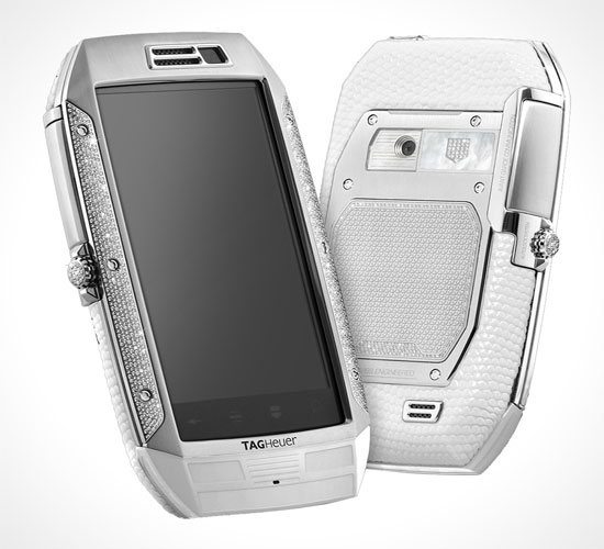 Tag Heuer Link white lizard Smartphone