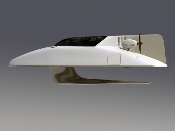 "Aguila Design's Yacht Concept ""Xi"""