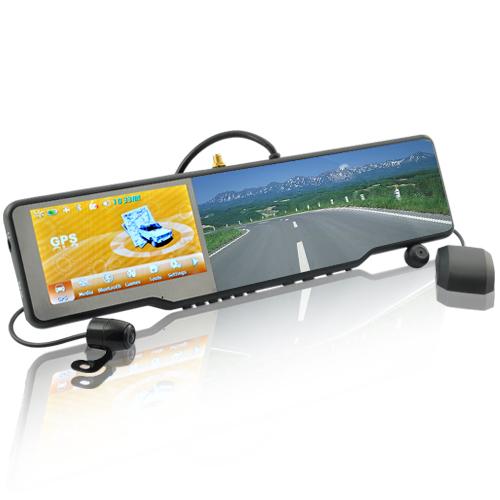 Car Bluetooth Rearview Mirror Kit