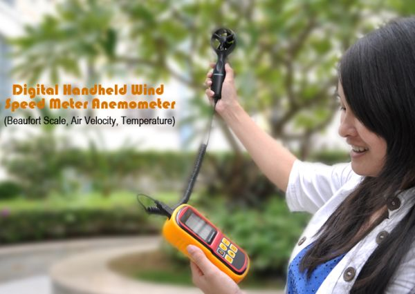Digital Handheld Wind Speed Meter Anemometer