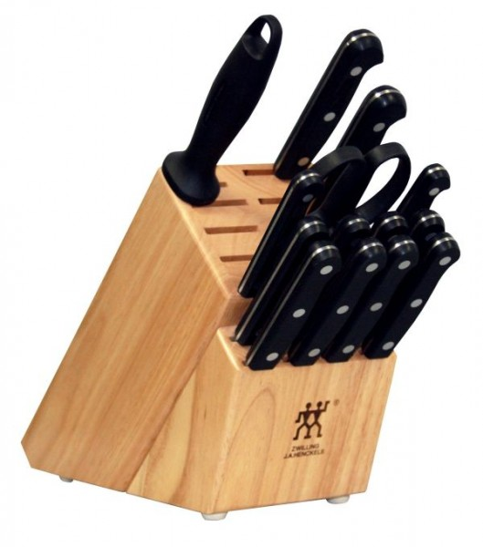 Twin Gourmet 15 Piece Block Set Gadgets Matrix