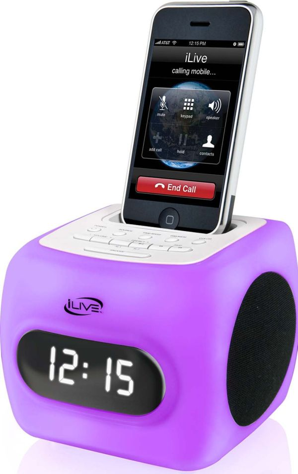 Color Changing Clock Radio